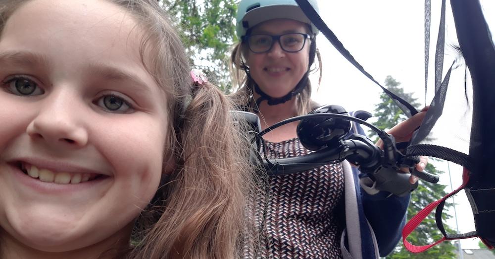 Drei Wochen Lastenradfamilie